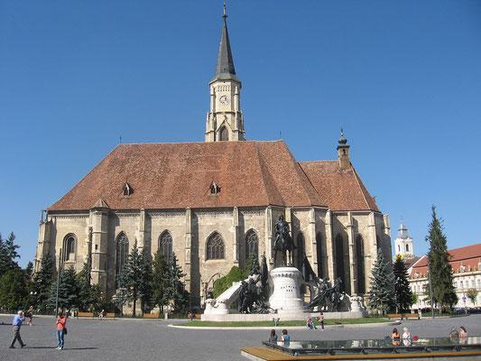 Römisch-katholische Michaelskirche in Klausenburg (Siebenbürgen)