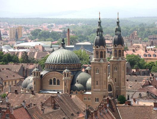 Rumänisch-orthodoxe Dreifaltigkeitskathedrale in Hermannstadt (Siebenbürgen)