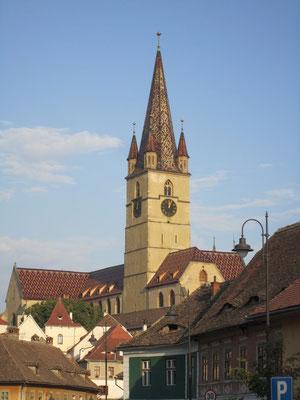 Ev. Stadtpfarrkirche in Hermannstadt (Siebenbürgen)