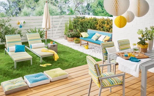 Gartenmöbel, Outdoorstoff