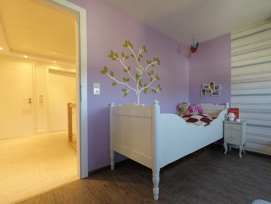 liebevoll gestaltetes Mädchenzimmer