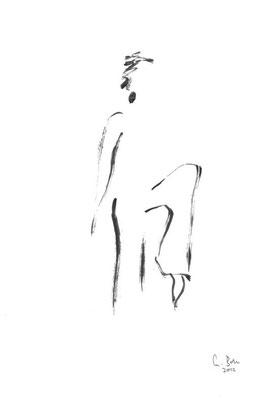 o.T.  :: 2012 :: Acryl auf Papier :: 31 x 44 cm