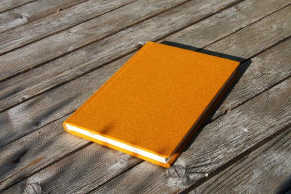 Schreibkult Loden orange