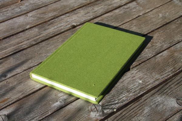 Schreibkult Loden apfelgrün