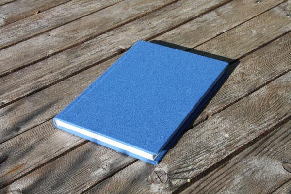 Schreibkult Loden himmelblau