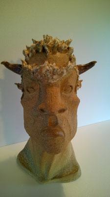 Sculpture cuisson four à bois Noborigama -Juan José Ruiz Artiste/Auteur Sculpteur céramiste dit Caco 2017 -