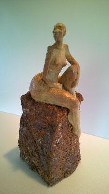 Sculpture grès cuisson four à bois noborigama - Caco 2017 -