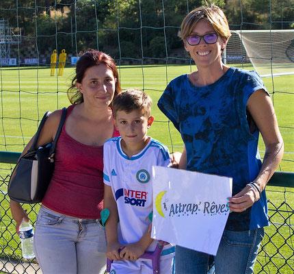 Lorenzo et sa maman