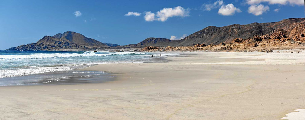 Das ist ein Strand.