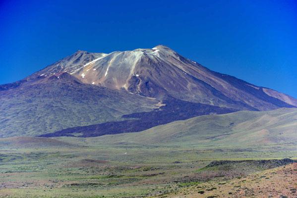 Der Vulkan Domuyo mit all seinen Ausbrüchen.