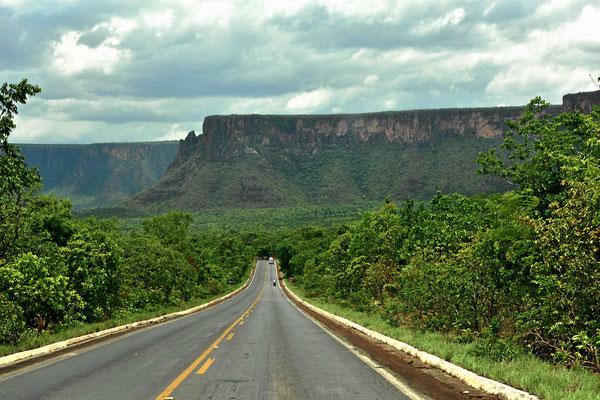 Der Nationalpark erstreckt sich hauptsächlich entlang der Abbruchkante.
