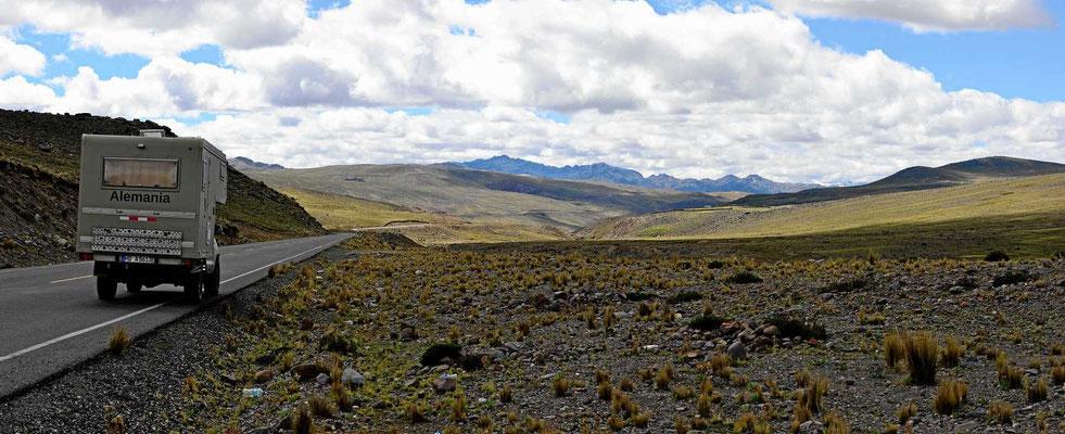 Genussfahren auf dem Altiplano.