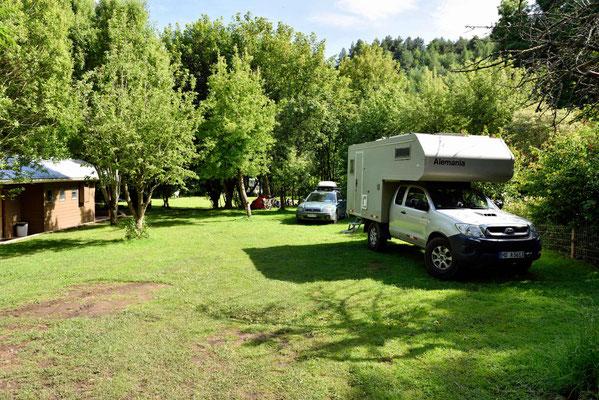 Der Campingplatz, ein Platz zum Wohlfühlen.