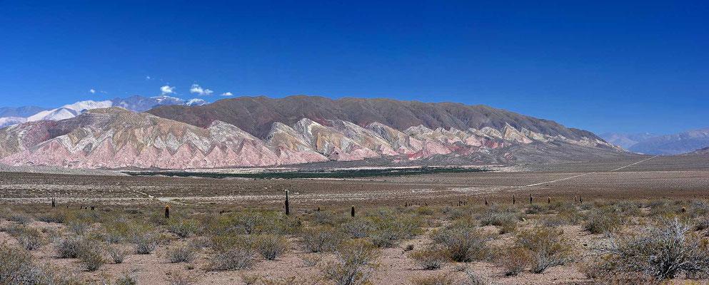 Rückblick auf den Nationalpark Los Cardones