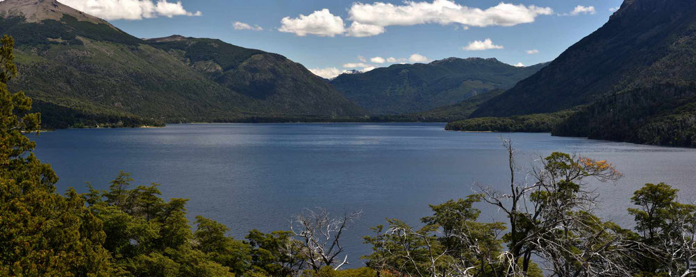 Lauter wunderschöne Bergseen im Nationalpark Nahuel Huapi.