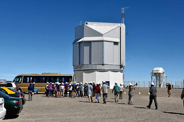 Eines der vier Observatorium mit einem 8,2 m-Spiegel.