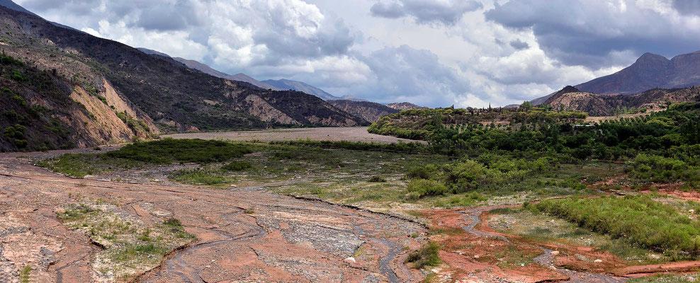 Das Tal des Rio Chicoana.
