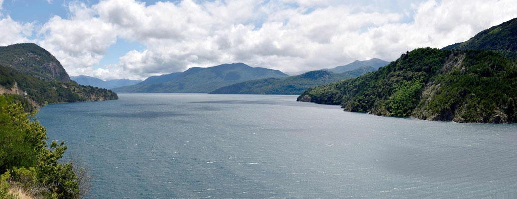 Der Lago Lacar bei San Martin de Los Andes.