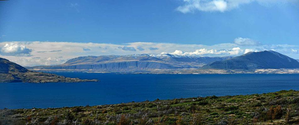 Puerto Natales liegt an Fjorden und damit am Pazifik.