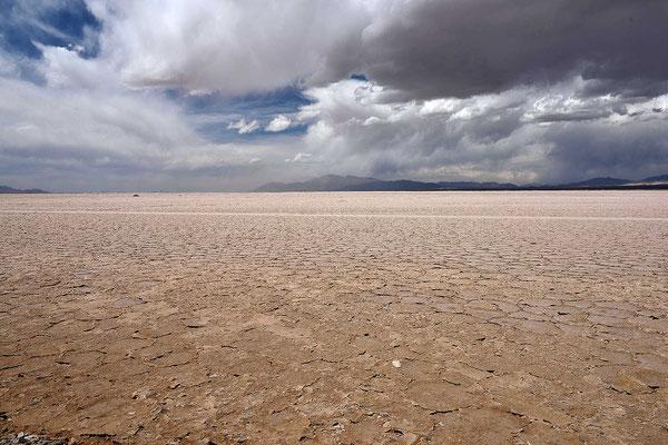 Der Salzsee aus der Nähe.