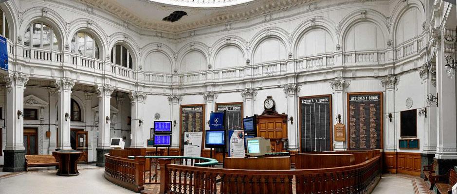 Die alter Börse von Valparaiso.