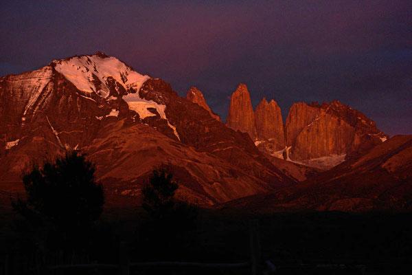 Ein Sonnenaufgang der Superlative - Andenglühen.