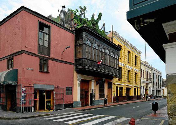 Die Altstadt von Lima.