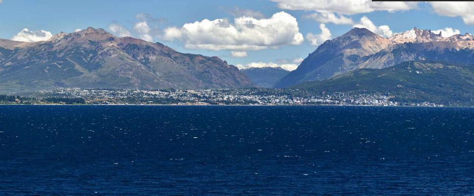 Blick auf San Carlos de Bariloche.