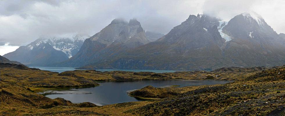 Herrliche Strecke durch den Nationalpark zum Lago Pehoe.
