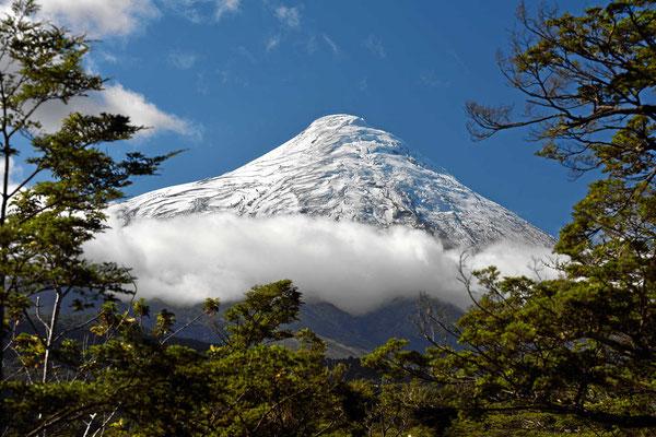 Wir nähern uns dem Osorno