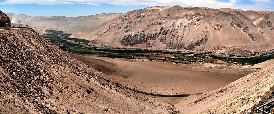 Die Flussoase des Rio Llutre.