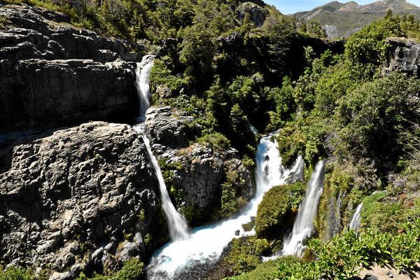 Das sind die Wasserfälle.