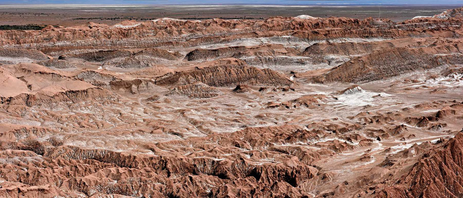 Das Mondtal bei San Pedro de Atacama (Valle de Luna)