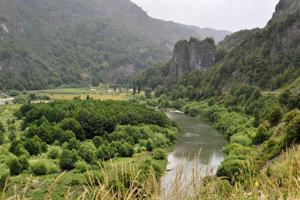 Der Rio Simpson kurz vor Coyhaique.