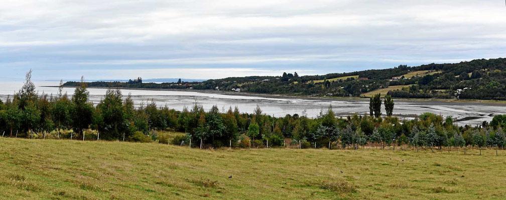 Die Küstenstrecke Richtung Pumalinpark ist für chilenische Verhältnisse dicht besiedelt.
