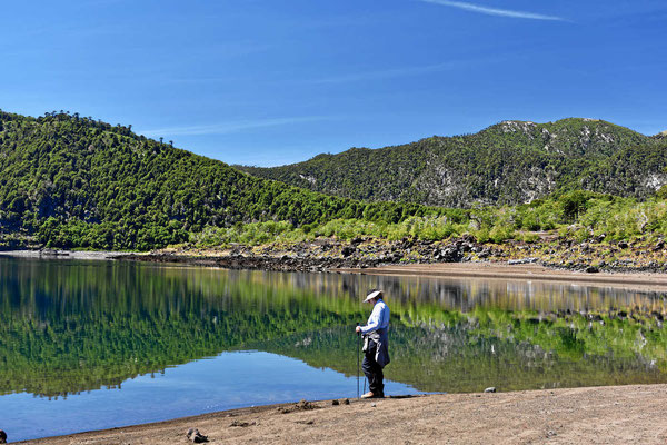 Wanderung entlang des Lago Conquillio