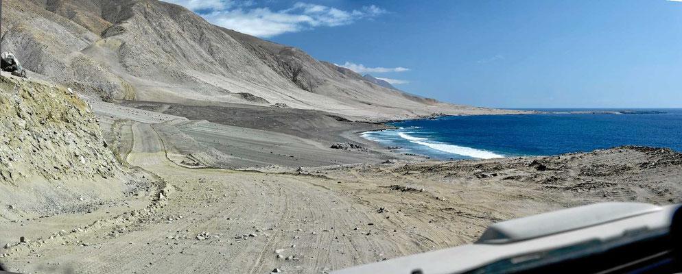 Die Pazifikküste.