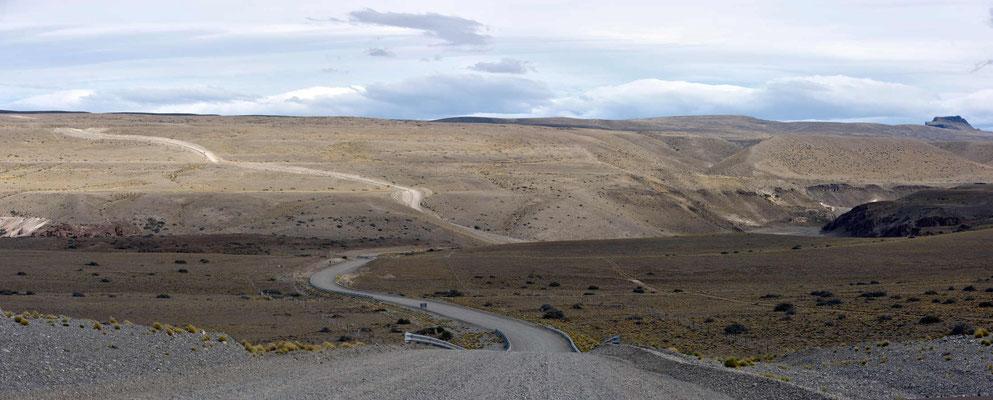 Fahrt zu den Cuevas de las Manos.