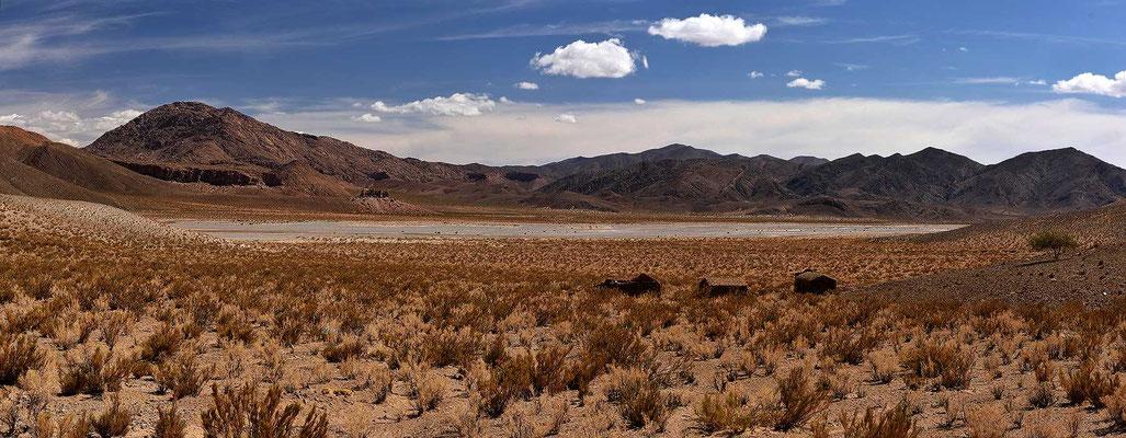 Fahrt über die Puna-Hochfläche Richtung Passo Jama, Grenze zu Chile.