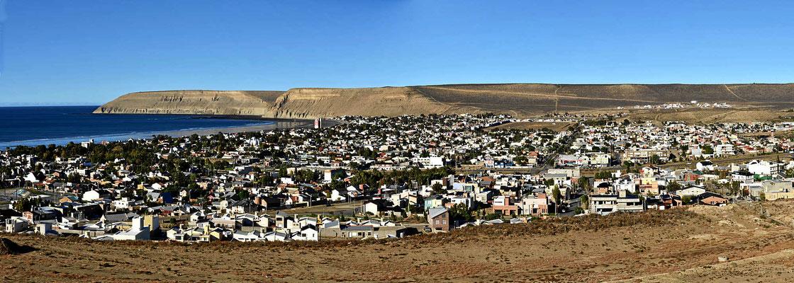 Rada Tilly ist ein Luxusvorort von Comodoro Rivadavia,  hier wohnt die Öl-Hautevolee.