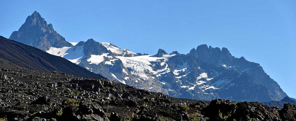 Die Sierra Velluda, immerhin 3584 m hoch.