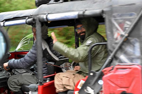 Zwei Kanadier fahren darin von Kolumbien nach Feuerland.