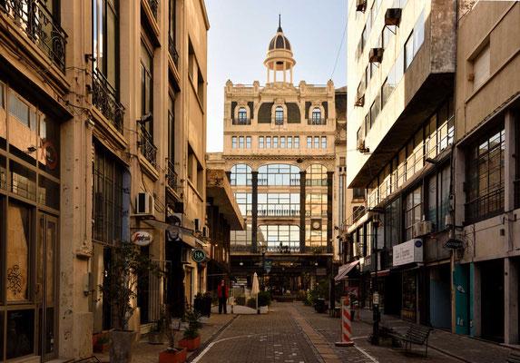 Einer Nebenstraße in der Altstadt.