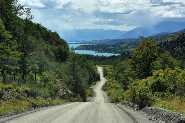 Fahrt zum Lago General