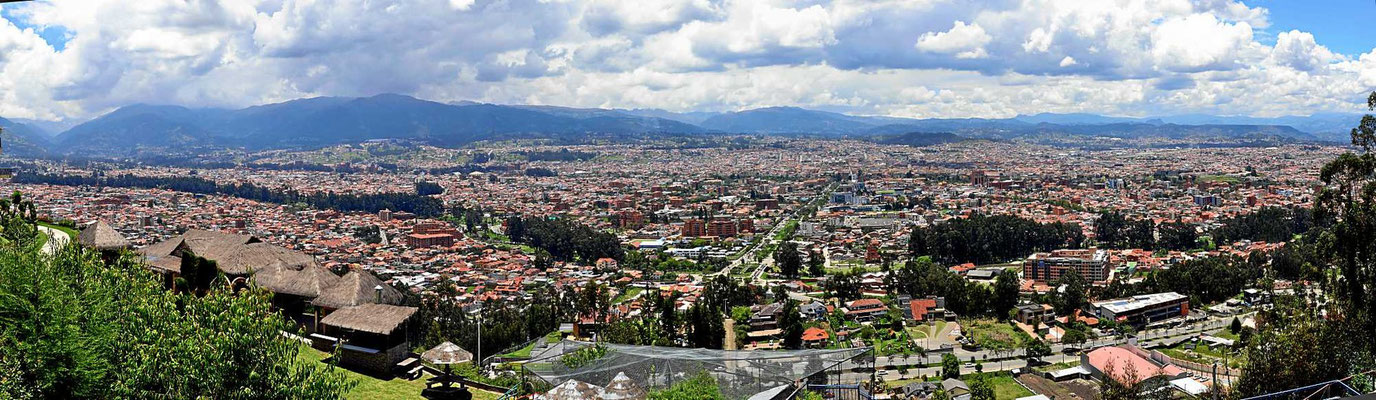 Das ist Cuenca.