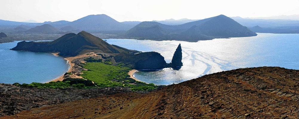 Eine der schönsten Inselblicke auf Galapagos.-