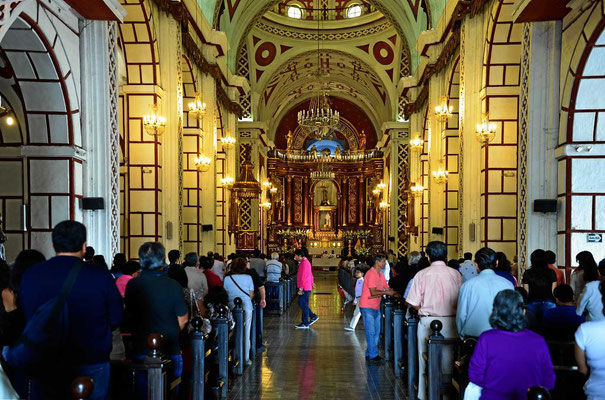 Die Kirche Santo Domingo, ein Weltkulturerbe,