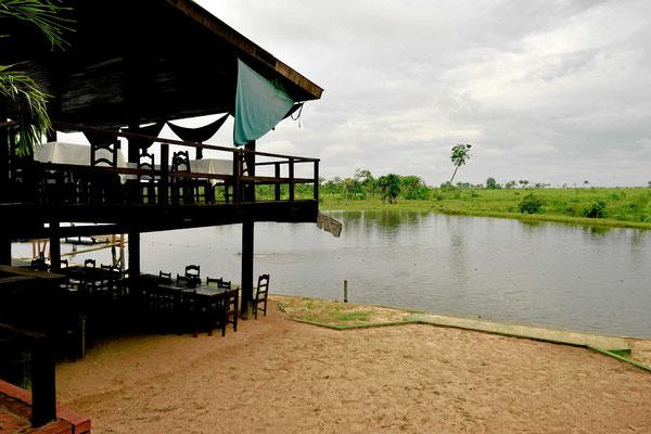 Der See am Hotel Itauba, wunderbar zum schwimmen.