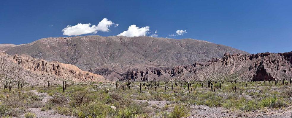 Das Tal de Humahuacada, Welterbe der Unesco.