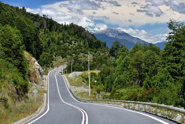 Die Carretera Austral, mal asphaltiert.